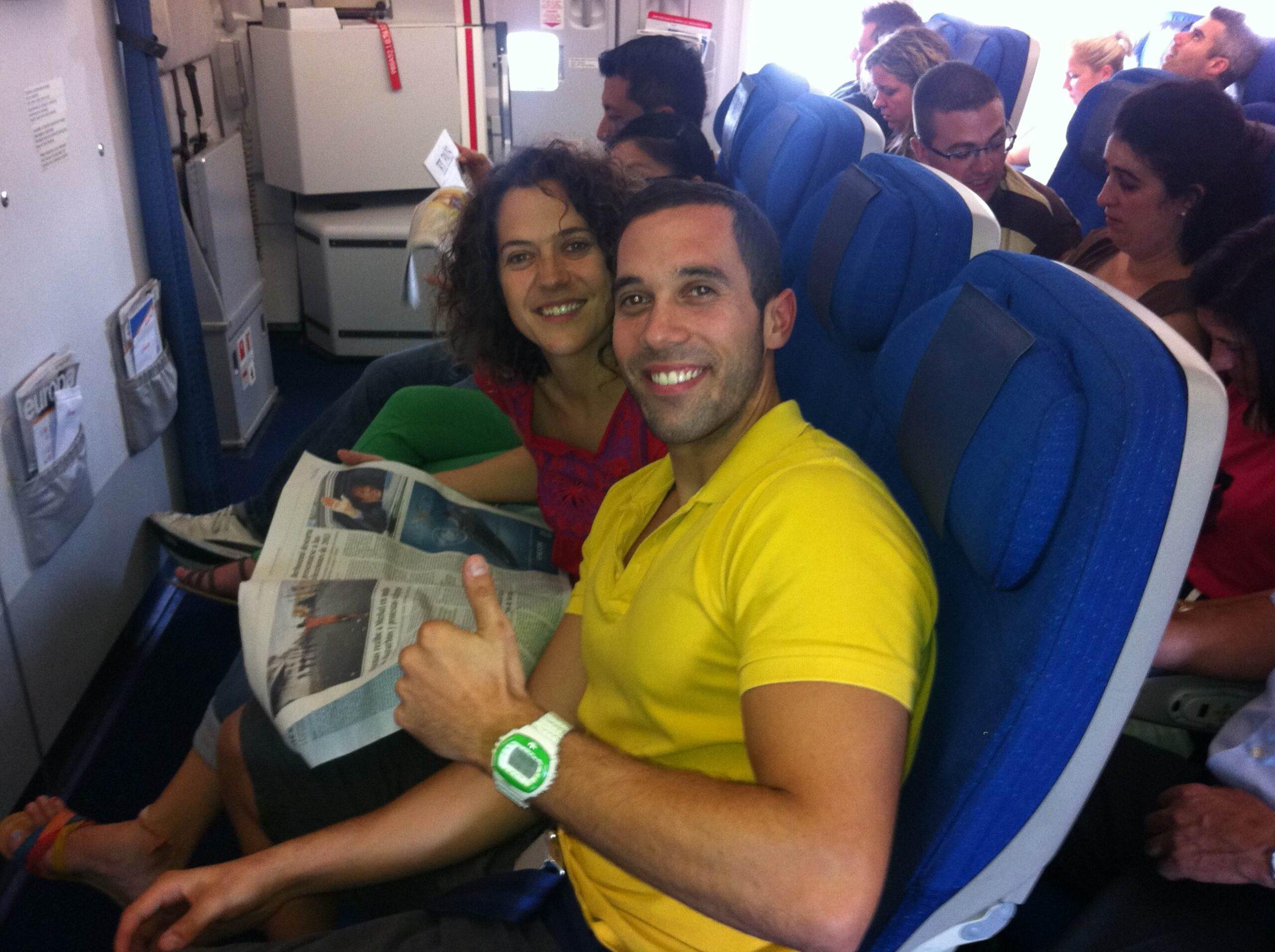 De Murcia a Madrid y llegada a Punta Cana en un solo día