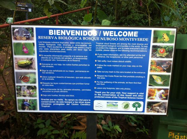 Monteverde, un paraíso terrenal y hacer canopy en Costa Rica