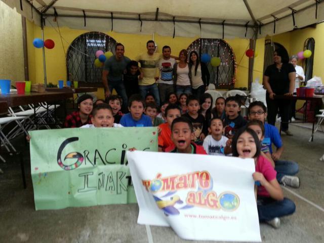 """Día solidario con los niños y niñas de """"Alianza por tus derechos"""""""