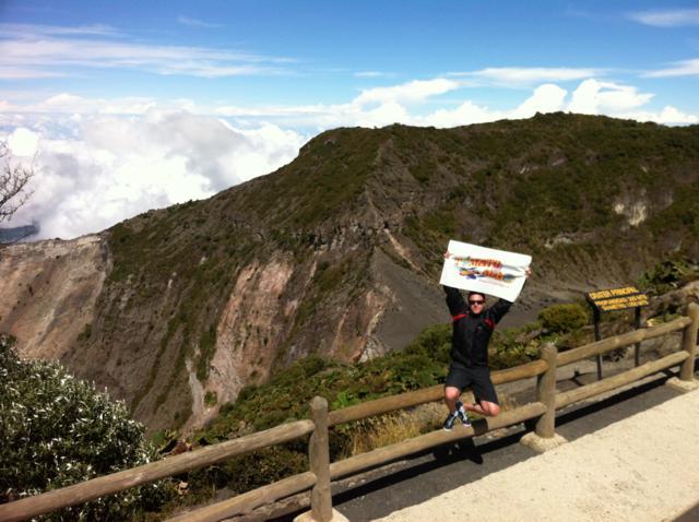 El volcán Irazú es una de las maravillas de Costa Rica
