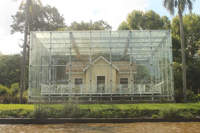 La casa que el Capitán Sarmiento tenía en Tigre, protegida para aguantar el paso del tiempo