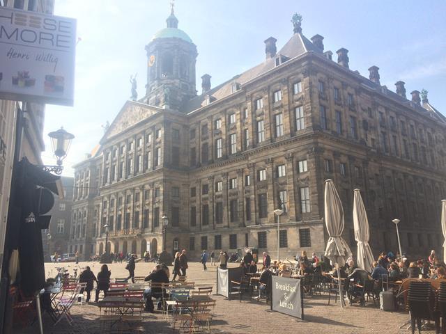 El Palacio Real, uno de los cuatro del monarca holandés.