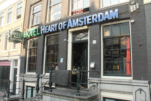 Este fue nuestro hostel el «Heart Of Amsterdam»