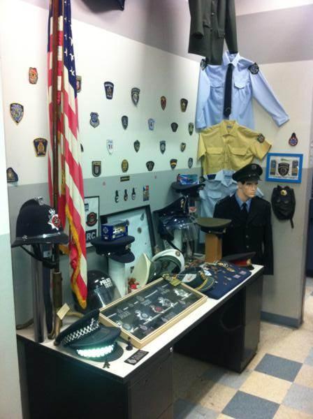 Pequeño museo policial